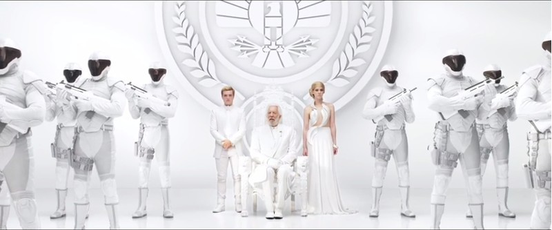 The Rebels Interrupt This Broadcast in New 'Mockingjay' Teaser