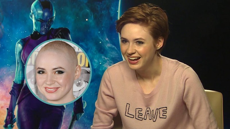 Karen Gillan Explains Mystery Of Her Missing Hair (Exclusive)