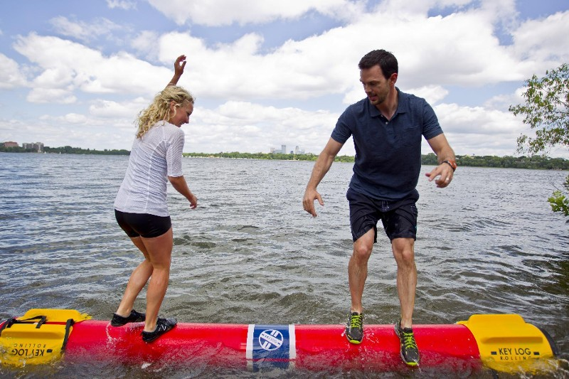 Logrolling Could Be the Next Fitness Craze