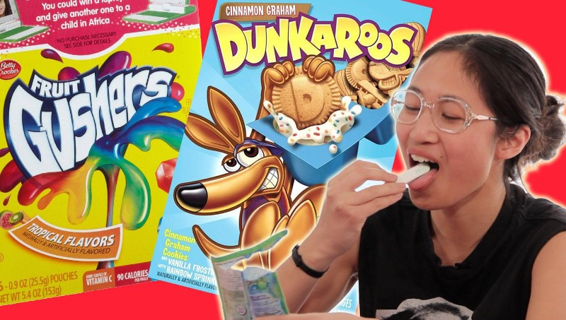 We Tried Our Favorite '90s Snacks To See If They Still Actually Taste Good