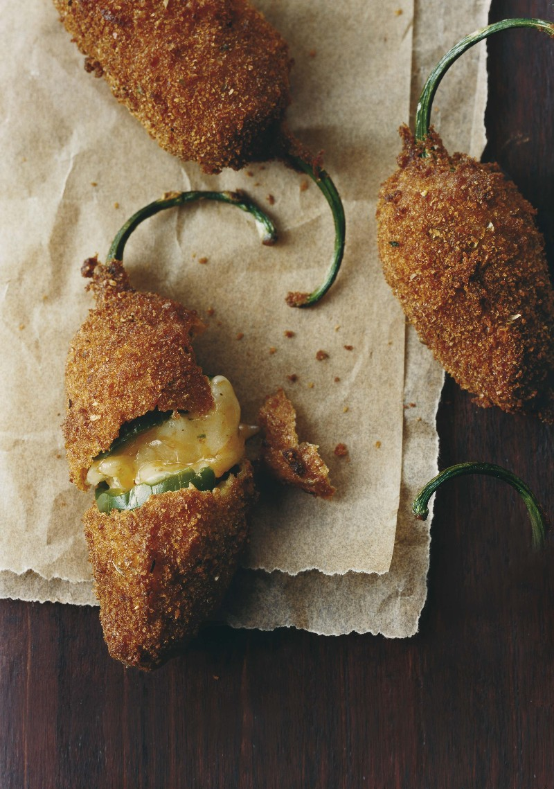 Cheesy Baked Jalapeño Poppers