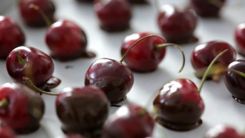 Life Is Like a Bowl of Chocolate-Dipped Cherries