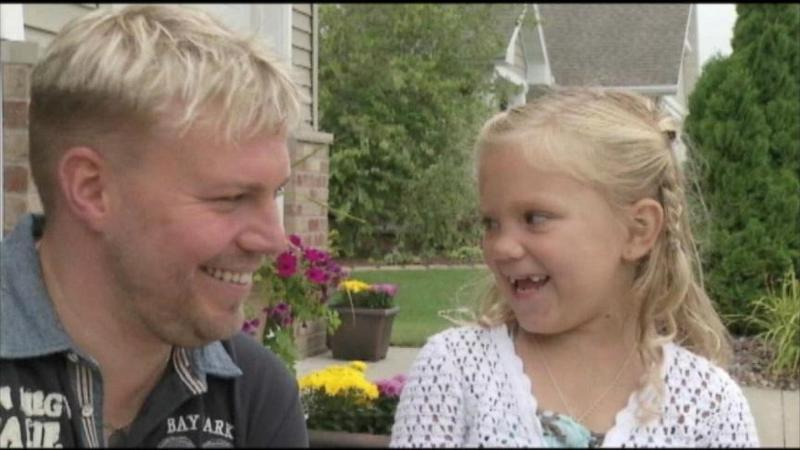 Girl Saved by Anonymous Donor Meets Her 'One in the World' Match