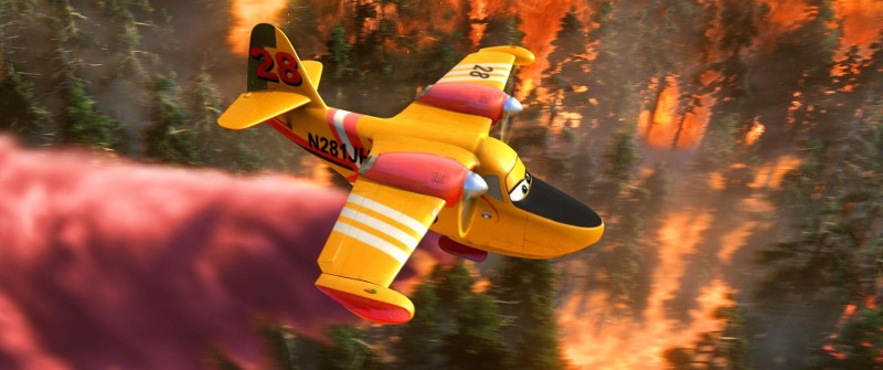First Clip from 'Planes: Fire & Rescue' Combines High-Flying Action With High-Energy Rock