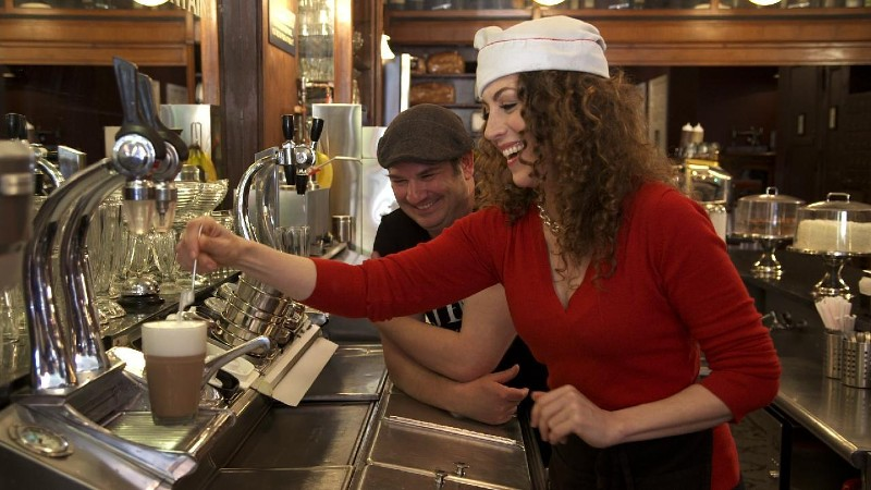 WATCH: A Modern-Day Soda Fountain That Takes You Back in Time