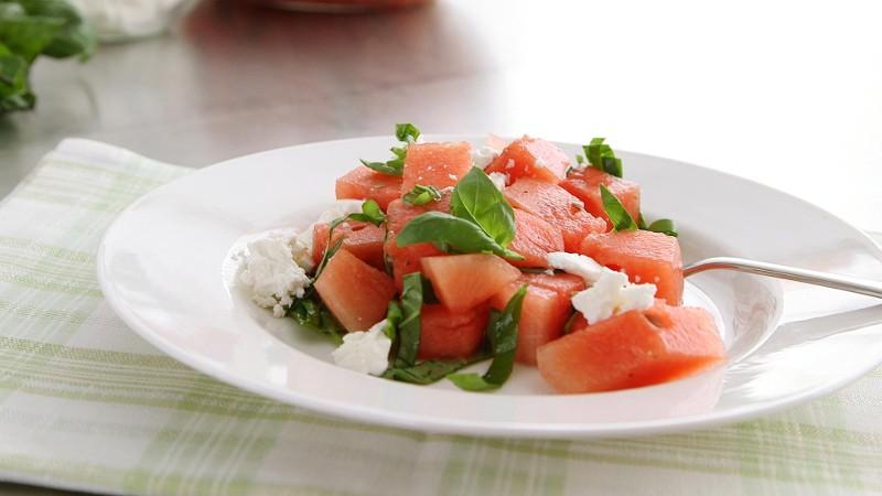 Watermelon + Feta + Basil = Win