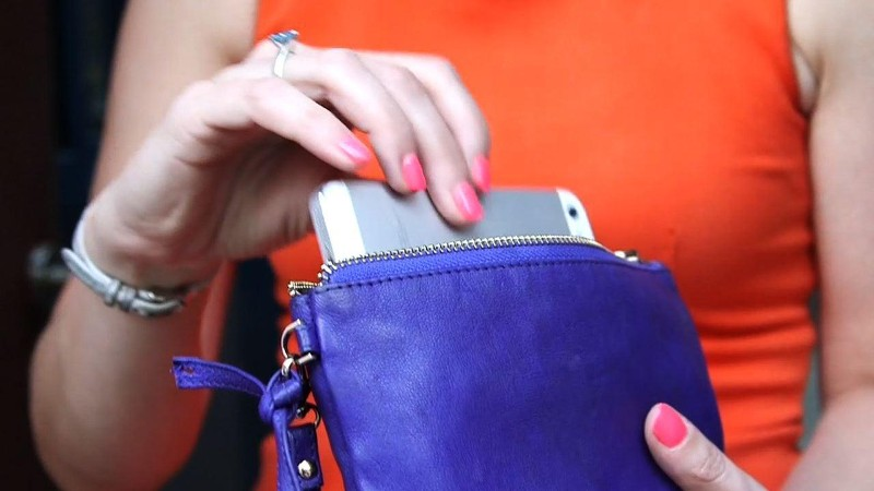 WATCH: Three Purses That Double as Smartphone Chargers
