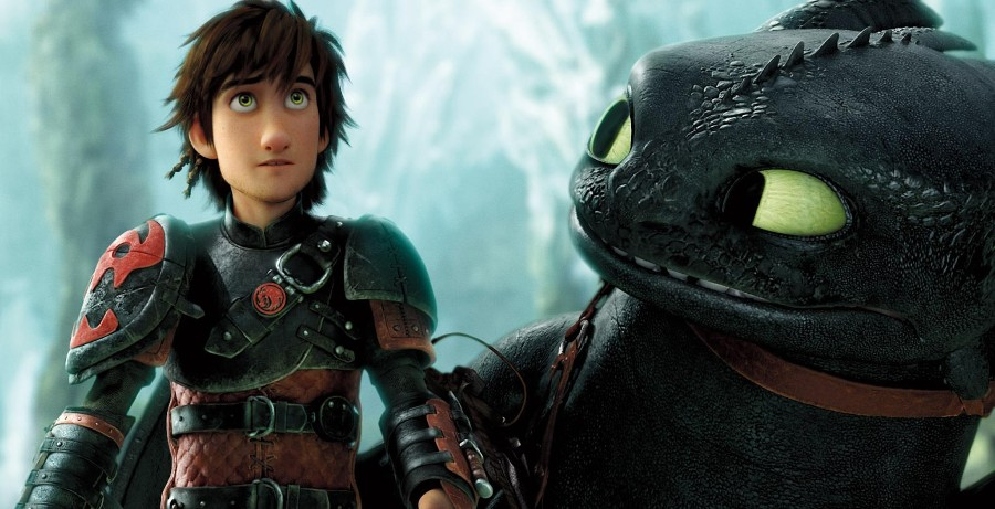 'How to Train Your Dragon 2' Clip: First Look at an Alpha Dragon in Action