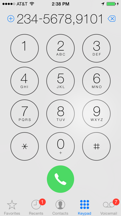 How to Automatically Call a Number with an Extension on Your iPhone