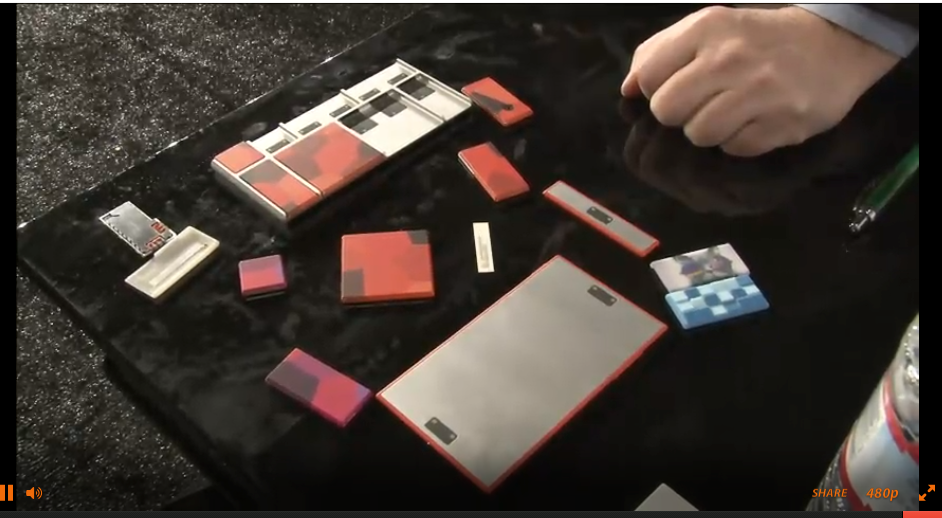 Google's Project Ara: Build Your Own Phone with Bits Held Together by Magnets