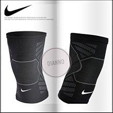 帝安諾-NIKE ADVANTAGE 4D 高階 護膝 護膝套 慢跑 籃球 運動 重訓 登山 保護 黑色 ac3950