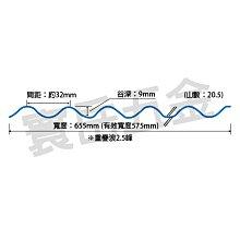 【現貨】日本製PC小圓浪4050冰白 保固五年 PC板 採光罩 塑鋁板 角浪 玻璃纖維 塑膠浪板 室內隔間 牆壁裝飾板