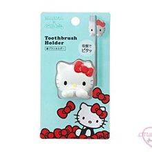 ♥小花花日本精品♥Hello Kitty x MARNA造型吸盤式牙刷架 牙刷固定架 牙刷收納架~3