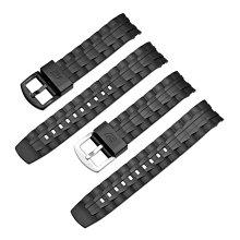 【可開發票】Casio卡西歐edifice手表表帶 適用EF-550550DRBSP橡膠樹脂表帶[國際購]
