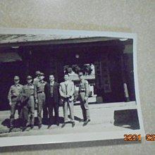 早期懷舊金門戰地政務委員會黑白照片1張*牛哥哥二手藏書