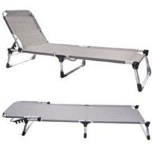 大營家購物網~ dj-6720可調式鋁合金行軍床(附外袋 五段/透氣/舒適方便