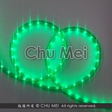 110V-綠色外皮LED二線3528水管燈50米 - led燈條 燈條 圓二線 非霓虹 led 水管燈 管燈 軟條燈