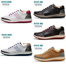 正貨ECCO GOLF BIOM HYBRID 男鞋 高爾夫球鞋 ECCO休閒鞋 動能混合運動鞋 進口牛皮 151514
