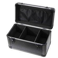 {興達1792}大號多功能維修五金工具箱鋁合金手提箱 航模防震儀器箱收納箱子「黑色」TCQ