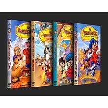 「美國鼠譚1-4合集」盒裝高清DVD碟片.國英雙語+完整花絮.4碟