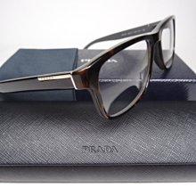 信義計劃 眼鏡 全新真品 PRADA VPR 07P 彈簧 玳瑁膠框方框 Ray 超越 OP MJ Dita Ban