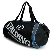 SPALDING斯伯丁2顆裝籃球/休閒兩用袋.SPB5311N91黑灰*