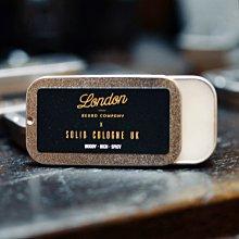 英國 Solid Cologne UK 固態古龍水 - London Beard 聯名限定版(男性香水 / 體香膏)