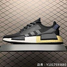Adidas NMD_R1 V2 Boost 3M反光 黑 休閒運動 慢跑鞋 FW5327 男女鞋
