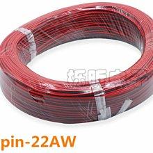 ►1848◄(1米)2P LED燈帶延長線 2芯紅黑線並線 22AW連接線