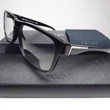 信義計劃 眼鏡 全新真品 PRADA VPR 07P 彈簧 黑色 膠框 方框 超越 OP MJ Dita Ray Ban