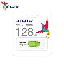 [原廠保固] UV320 清新白/綠 128GB USB3.1 伸縮接頭 高速隨身碟 (AD-UV320W-128G)