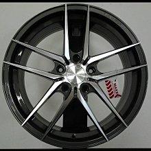╭☆輪鋪☆╯(MAXX MM01) 18吋5孔112 BENZ/VW/AUDI灰車面 旋壓輕量化鋁圈-8.3KG