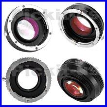 Lens Turbo減焦增光CANON EOS EF鏡頭轉Sony NEX E卡口機身轉接環A7 A7R A7S M 2