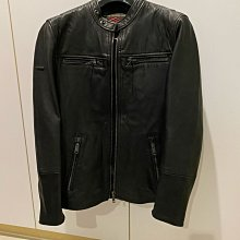 出售 極度乾燥 Superdry Real Hero Biker Leather 皮衣 XS