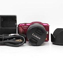 【台南橙市3C】Panasonic LUMIX DMC-GF5 GF5 紅 +14-42MM 單鏡組 #54838