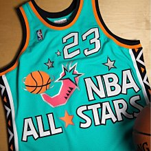 NBA M&N Michael Jordan 96 明星賽 球衣 辣椒 Mitchell & Ness