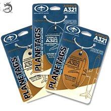 九州動漫 美國Planetags鑰匙扣行李牌掛件 空客A321 越南航空 飛機蒙皮掛件