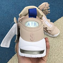 D-BOX  Nike Air More Money AO1749-200 氣墊 慢跑鞋 運動 百搭 粉色 皮蓬