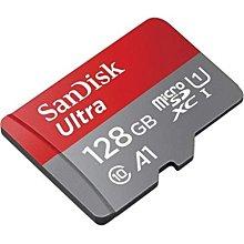 新版A1 SanDisk Ultra 128GB MicroSD MicroSDXC C10 高速手機記憶卡