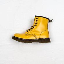 Dr. Martens 1460 8孔 黃色 硬皮 短筒 經典款 馬汀靴 男女鞋