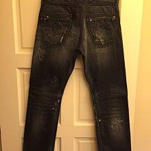 REPLY 直筒牛仔褲, 腰寬30/褲長32