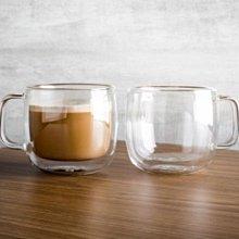 德國雙人Zwilling 2入  450ml*2 有把手 雙層 隔熱 玻璃杯 咖啡杯 耶誕禮物 胖39500-113