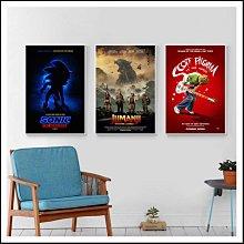 音速小子 野蠻遊戲 瘋狂叢林 全面晉級 歪小子史考特 電影海報 藝術微噴 掛畫 嵌框畫 @Movie PoP 多款海報#
