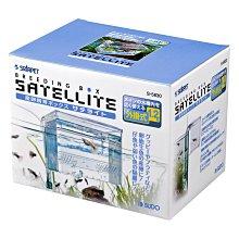 魚樂世界水族專賣店# S-5830 日本 SUDO M 氣動外掛式繁殖隔離盒1.2L 水晶蝦 孔雀魚飼育必備商品