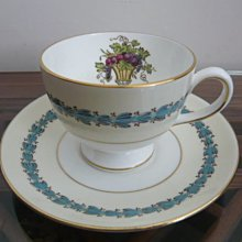 WEDGWOOD APPLEDORE 骨瓷咖啡杯組
