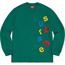 【美國鞋校】預購 Supreme FW20 Scatter Logo L/S Top 長T