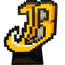 【黑芳HaveFun】臺中洲際棒球場 吉祥物小翔 BROTHERS LOGO 積木 中信兄弟 玩具 微型積木 兄弟象