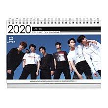 【 特價 】韓國 탁상용 달력 正韓進口 車銀優 ASTRO 2020  2019 直立式照片桌曆台曆