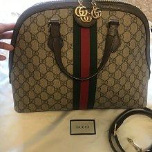 二手 Gucci極新大款 貝殼包