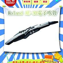 造韻樂器音響- JU-MUSIC - ROLAND Aerophone Pro AE-30 電子 吹管 薩克斯風 黑色